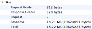 My Caching Server's Response Size - Go Figure!